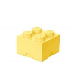 Cutie depozitare LEGO 2x2 galben deschis (40031741)