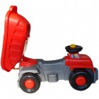 Camion basculant Carrier rosu Super Plastic Toys