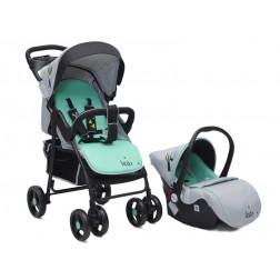 Carucior copii 2 in 1 Cangaroo Lea Verde