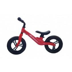 Bicicleta fara pedale 12 inch rosie inaltime reglabila roti EVA - SKILLMAX
