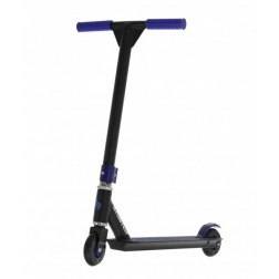 Trotineta Stunt Freestyle XL sarituri cascadorii si skatepark nivel intermediar Albastra