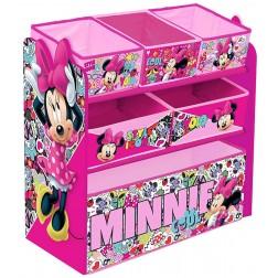 Organizator jucarii cu cadru din lemn Minnie Mouse Cool - Global