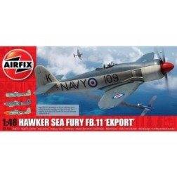 Kit constructie Airfix avion Hawker Sea Fury FB 11 Export Edition 1 48