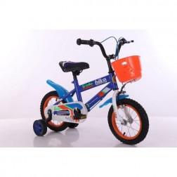Bicicleta albastra roti 30cm