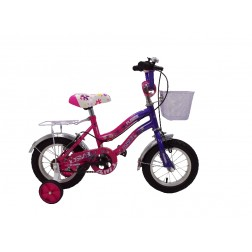 Bicicleta BMX 12 Pink Cadru Fata - MyKids