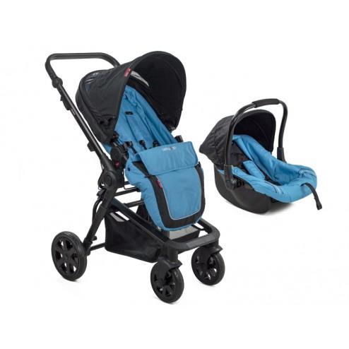 Carucior copii transformabil 3 in 1 MyKids BabyGo Blue