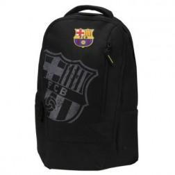 Ghiozdan Gimnaziu Barcelona Negru si minge cadou