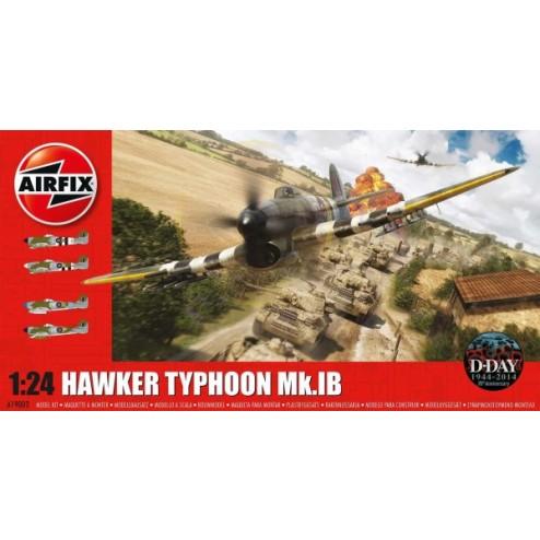 Kit constructie Airfix Hawker Typhoon MkIb scara 1:24