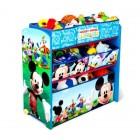 Organizator jucarii cu cadru din lemn Disney Mickey Mouse