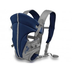 Marsupiu Bebe Si Copii Joyello JL-1001 Albastru-Gri