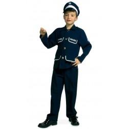 Costum pentru serbare Politist 104 cm