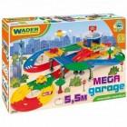 Mega garaj cu 3 masinute Kid Cars 3D Wader