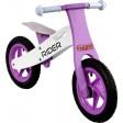 Bicicleta Fara Pedale Din Lemn ARTI Roz