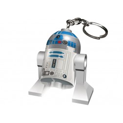 Breloc cu lanterna LEGO R2-D2  (LGL-KE21)