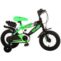 Bicicleta copii Volare Sportivo Verde, 12 inch