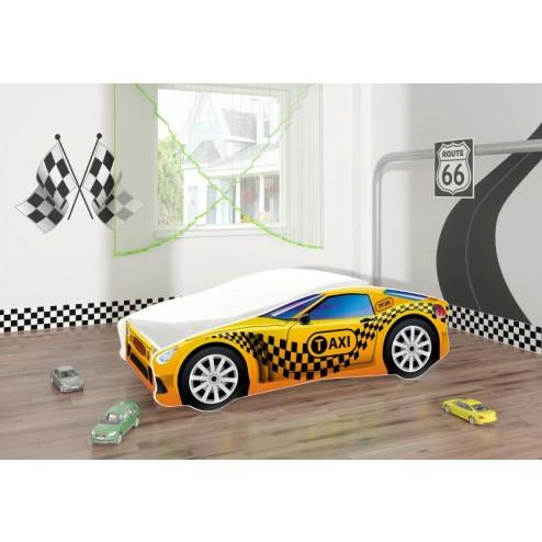 Pat Tineret Race Car 10 Taxi 160x80 - MyKids