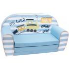 Canapea extensibila din burete pentru copii My Little Train Trade