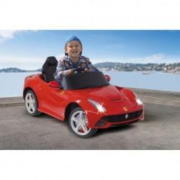 Masinuta electrica copii Ferrari F12 Berlinetta rosie Jamara 9V cu telecomanda control parinti