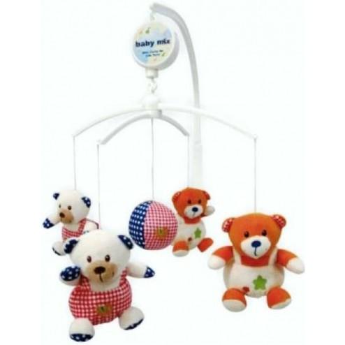 Carusel muzical Bears Family