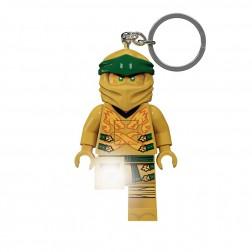 LEGO Breloc cu LED Ninjago - Ninja de Aur