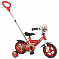 Bicicleta pentru baieti 12 inch, cu roti ajutatoare, Cars