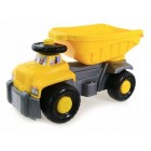 Camion basculant Carrier galben Super Plastic Toys
