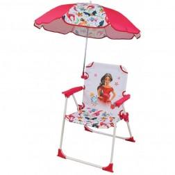 Scaun pliant pentru copii si umbrela de soare Elena din Avalor