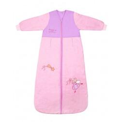 Sac de dormit cu maneca lunga Pink Fairy 3-6 ani 2.5 Tog