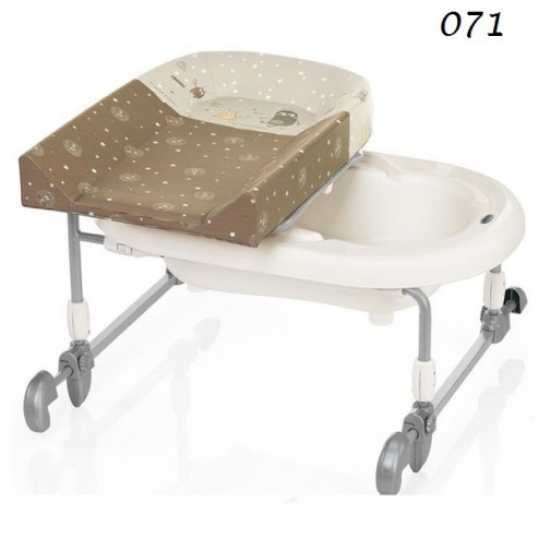 Masa pentru infasat Bagnotime Reversibile - Brevi