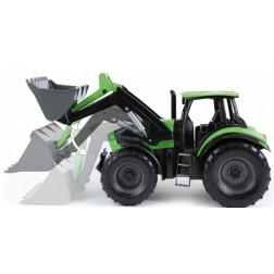 Tractor cu cupa functionala plastic Deutz Fahr Agrotron 7250 Worxx pentru copii 45 cm