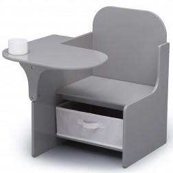 Scaun multifunctional din lemn, Plain Grey