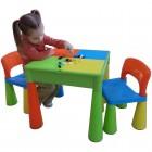 Masuta Guliver cu 2 scaune - Tega Baby - Multicolor
