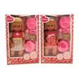 Papusa cu accesorii de hranire si olita pentru copii peste 2 ani - Globo Bimbo