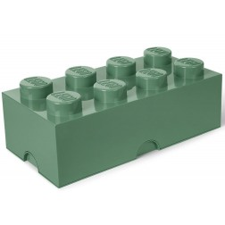 Cutie depozitare LEGO 2x4 verde masliniu (40041747)