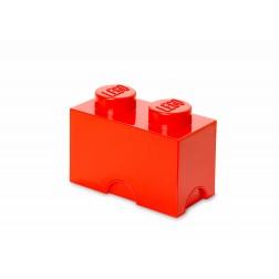 LEGO Cutie depozitare 1x2 culoare Roşie