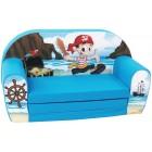 Canapea extensibila din burete pentru copii Pirate Trade