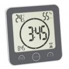 Ceas digital pentru bucatarie si baie cu timer si termohigrometru