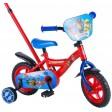 Bicicleta copii Paw Patrol, cu roti ajutatoare si maner 10 inch - Volare