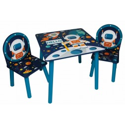 Set masuta si 2 scaunele Space