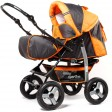 Carucior multifunctional Camarade - Orange cu Gri