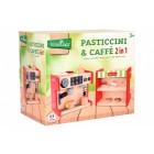Masina de cafea 2 in 1 cu 12 accesorii fetite - Globo