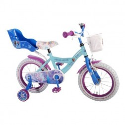 Bicicleta copii Frozen cu roti ajutatoare 14 inch - Volare
