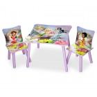 Set masuta si 2 scaunele Disney Fairies