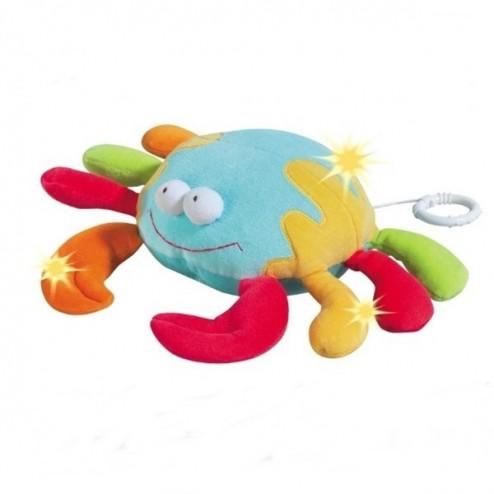 Jucarie muzicala Crab - Brevi Soft Toys