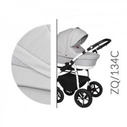 Carucior 3 in 1 cu Cadru Alb Baby Merc Zippy Q - ZQ134C