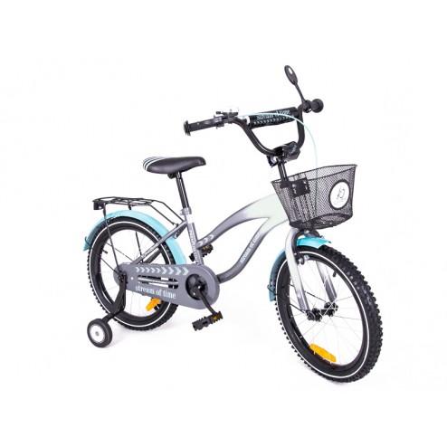 Bicicleta copii MyKids Toma Exclusive 1804 Turquoise