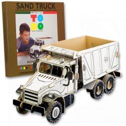 Joc creativ 3D Sand Truck