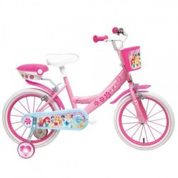 Bicicleta copii Mondo cu roti ajutatoare 14 inch Disney Princess