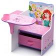 Scaun multifunctional din lemn Disney Princess Friendship