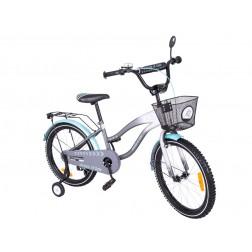 Bicicleta copii MyKids Toma Exclusive 2003 Turquoise